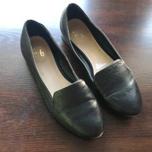 Mix No. 6 Shoes - Black & Gold Loafers